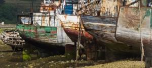 Camaret boat graveyard 2