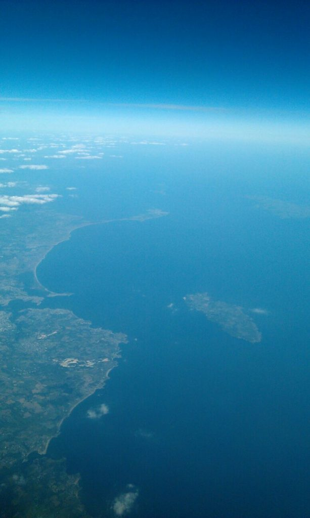 groix from the air
