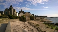 Piriac, beach, May 14, deserted